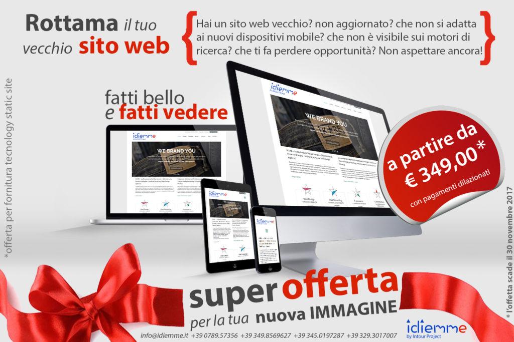 idiemme siti web in promozione